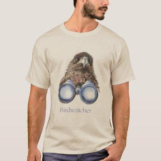 Camiseta Ornitologia que do falcão de Birdwatcher você