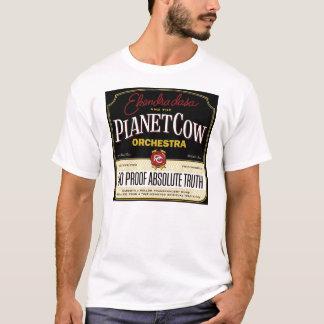 Camiseta Orquestra da vaca do planeta - verdade absoluta de