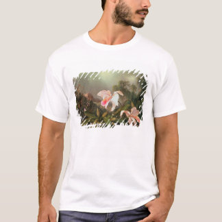 Camiseta Orquídeas da selva e colibris, 1872