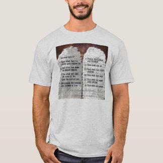 Camiseta Os 10 T/shirt do mandamento