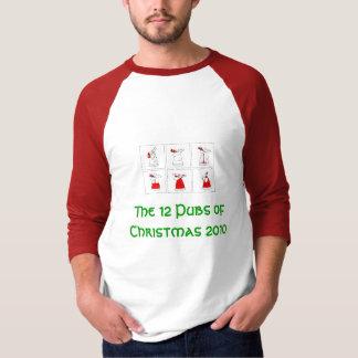 Camiseta Os 12 bares do Natal 2010