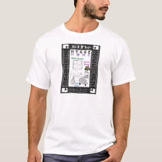 Camiseta Os 3 b de uma casa de Hygge