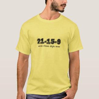 Camiseta Os 3 dígitos os mais maus