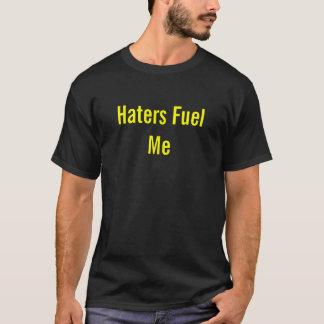 Camiseta Os aborrecedores abastecem-me