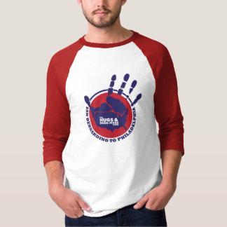 Camiseta Os abraços e High5s E.U. visitam - o t-shirt da