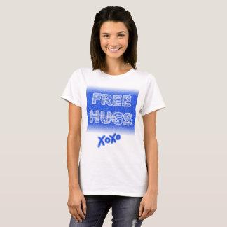 Camiseta Os abraços livres refrigeram o t-shirt gelado do