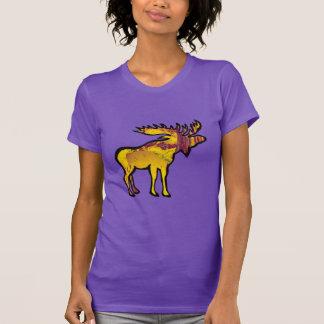 Camiseta Os alces dourados