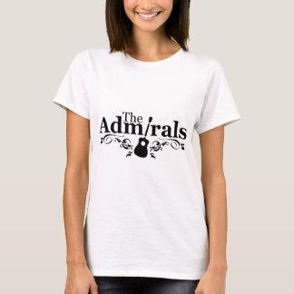 Camiseta Os almirantes