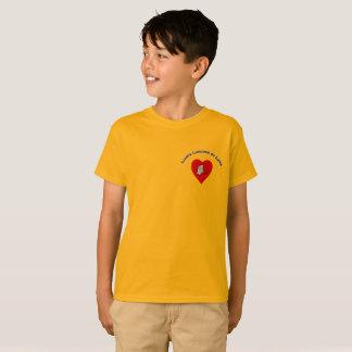Camiseta Os almoços de Liam do t-shirt do amor