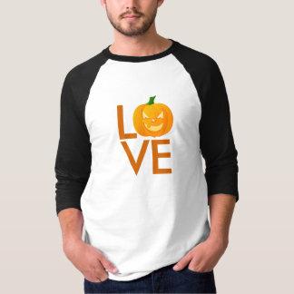 Camiseta Os amantes do Dia das Bruxas cinzelaram a lanterna