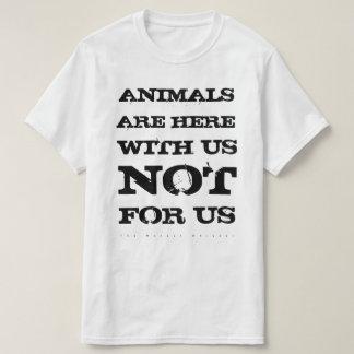 Camiseta Os animais são connosco