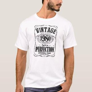 Camiseta Os anos 80 do vintage nascidos em eaghty