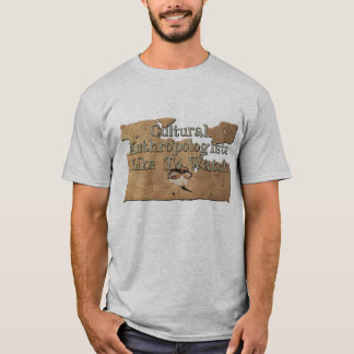 Camiseta Os antropólogos culturais gostam de olhar