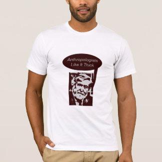 Camiseta Os antropólogos gostam d grosso