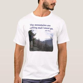 Camiseta Os Appalachians estão chamando