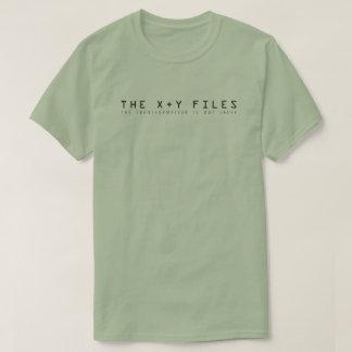 Camiseta Os arquivos de X e de Y: A transformação está para