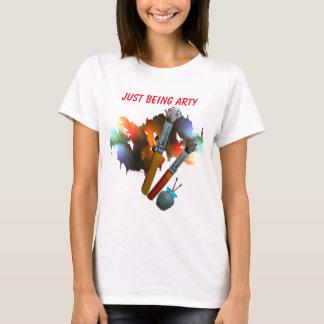 Camiseta Os Arty pintam & escovas