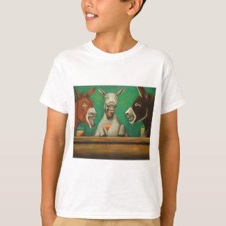 Camiseta Os asnos de riso