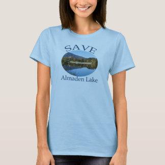 Camiseta Os azuis bebés das mulheres com do Web site parte