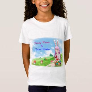 Camiseta Os beijos & a páscoa do coelho desejam