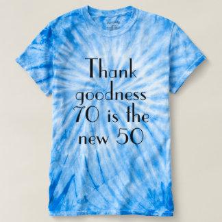 Camiseta Os bens 70 do obrigado são os 50 novos