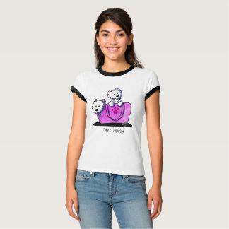 Camiseta Os bolsas Adorbs de KiniArt Westies