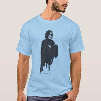 Camiseta Os braços de Severus Snape cruzaram o B-W