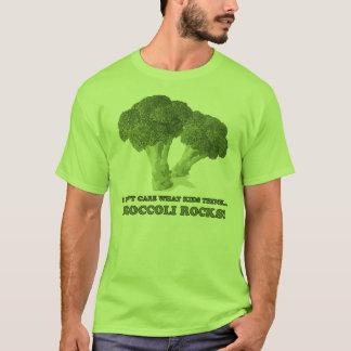 Camiseta Os brócolos balançam o t-shirt (o verde)