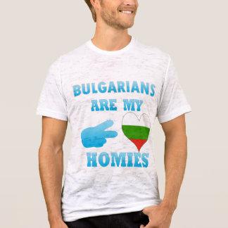Camiseta Os búlgaros são meu Homies
