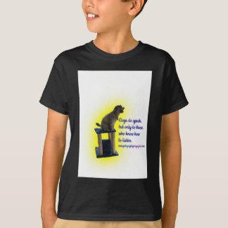 Camiseta Os cães falam