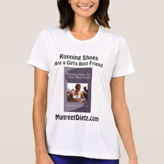 Camiseta Os calçados Running são o melhor amigo de uma