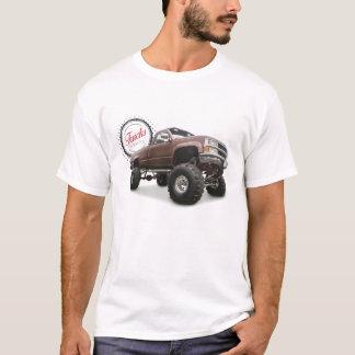 Camiseta Os caminhões são bonitos (4x4 Chevy)