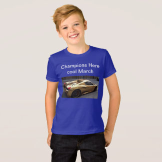 Camiseta Os campeões aqui T-Curtos para a venda é curel