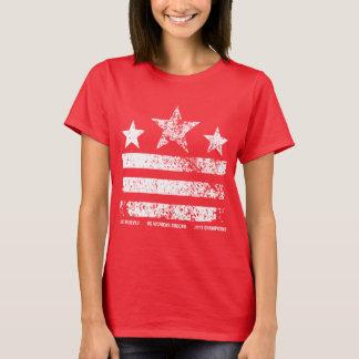 Camiseta Os campeões do futebol das mulheres dos E.U.