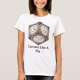 Camiseta Os cantos do cubo do tempo gostam de uma torta