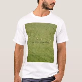 Camiseta Os carneiros fazem o céu macio