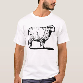 Camiseta Os carneiros solitários