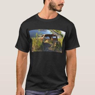 Camiseta Os carros velhos de Eklutna Tailrace