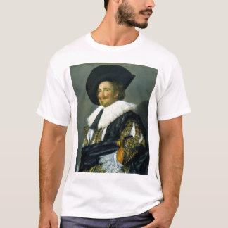 Camiseta Os Cavalier de riso - 1624 - Franz Hals (holandês)