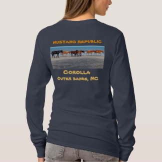 Camiseta Os cavalos selvagens do Corolla