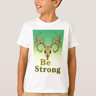 Camiseta Os cervos do crânio sejam citações fortes