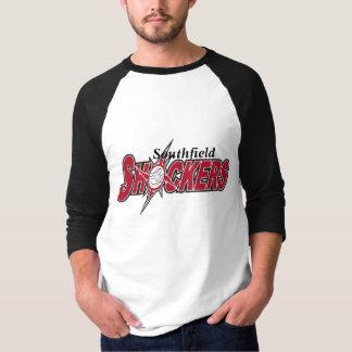 Camiseta os choques 1, símbolo de choque, Southfield