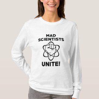 Camiseta Os cientistas loucos unem-se