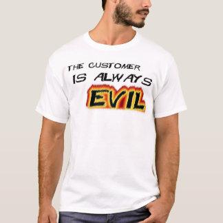 Camiseta Os clientes são maus