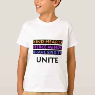Camiseta Os corações amáveis, mentes ferozes, espírito