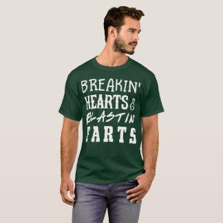 Camiseta Os corações & o blastin do arrombamento farts