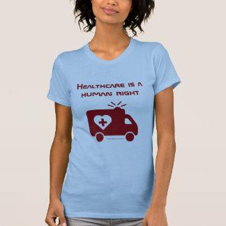 Camiseta Os cuidados médicos são um direito humano -
