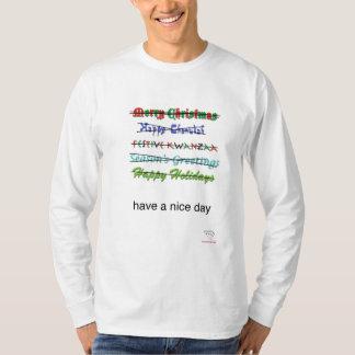 Camiseta Os cumprimentos das estações