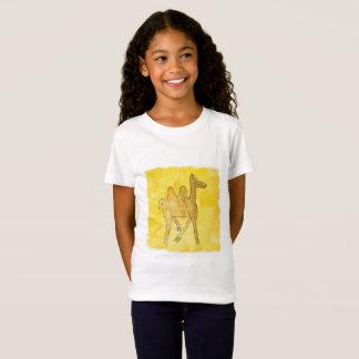 Camiseta Os desenhos do Tinca. Aguarela criançola com
