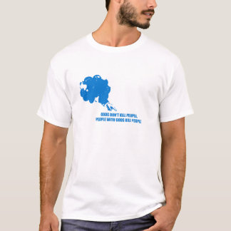 Camiseta Os deuses não matam o azul